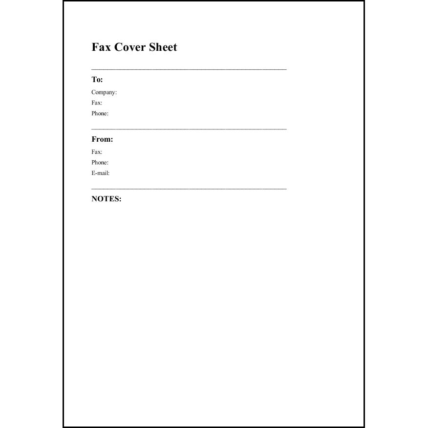 fax cover sheet 19 ファックス送付状 ビジネス 無料テンプレート