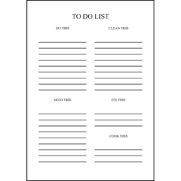 TO DO LIST14